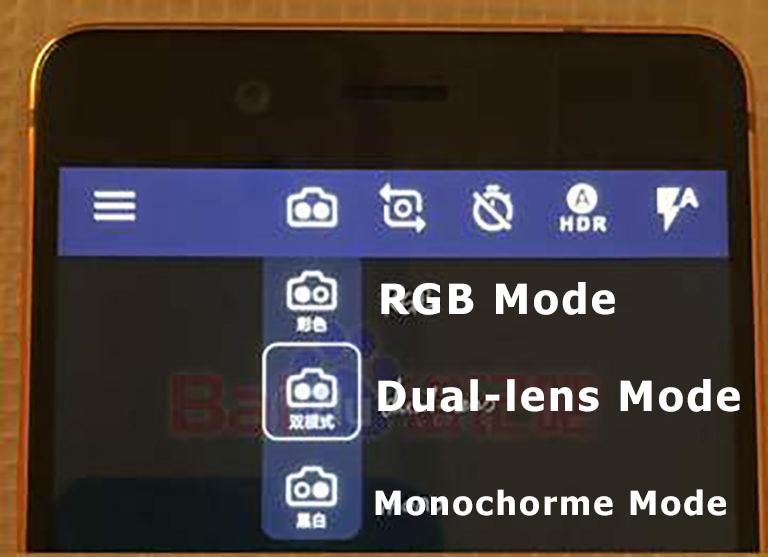 Nokia 8 Dual Camera Mode