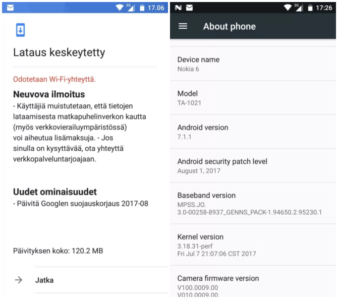 Nokia 5 6 August Patch