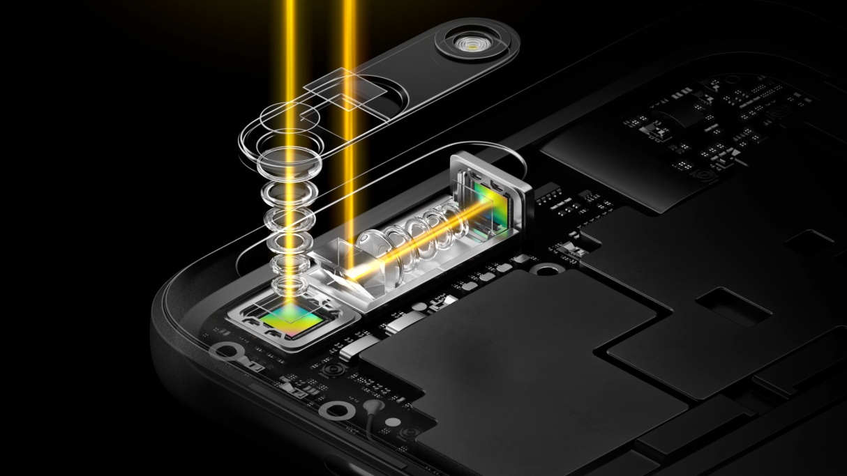 World's first periscope-style dual camera technology