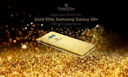Gold Elite Samsung Galaxy S8 Plus