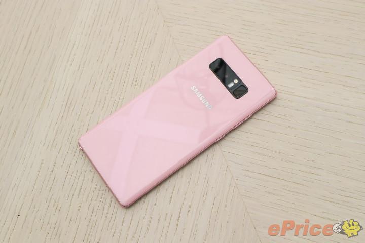 Samsung Galaxy Note 8 Star Pink
