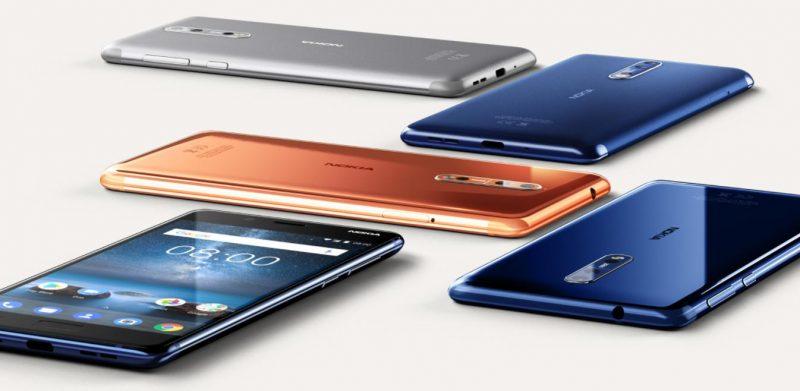 Nokia 8 Colors