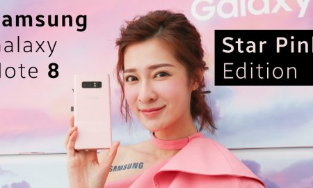 Samsung Galaxy Note 8 Stak Pink color