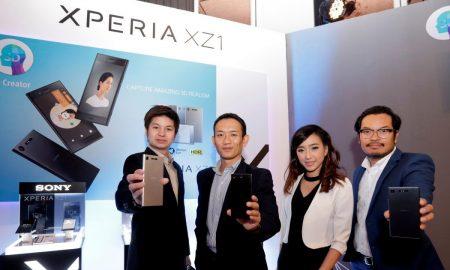 Sony Xperia XZ1 Press Conference