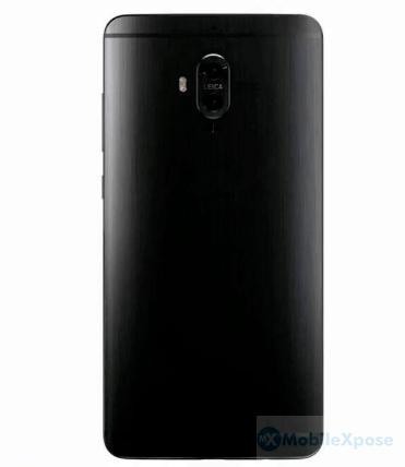 Huawei Mate 10 Pro Back Leaked Render
