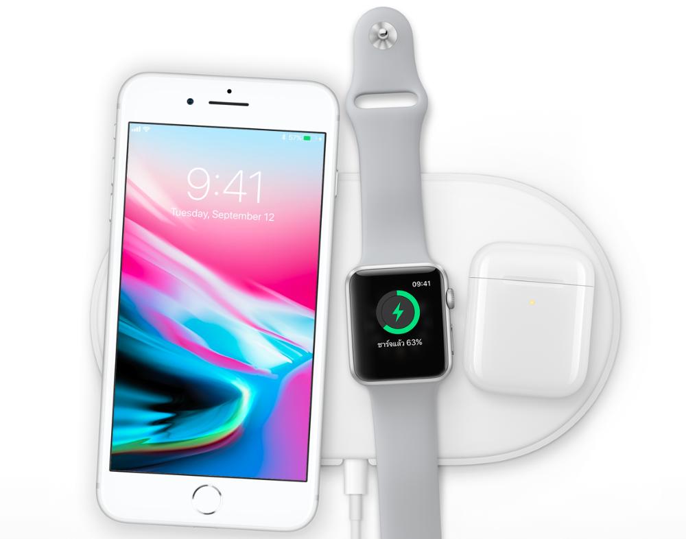iPhone 8, Apple Watch, AirPod, AirPower