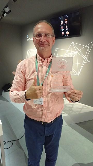 Lars Novak and Award