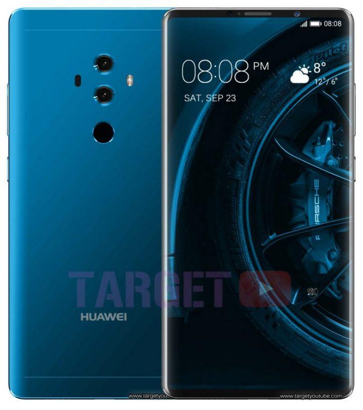 Leaked Huawei Mate 10 Porsche Design (1)