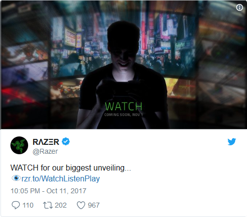 Razer annouvement New Device