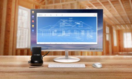 Samsung DeX Station Linux OS Header