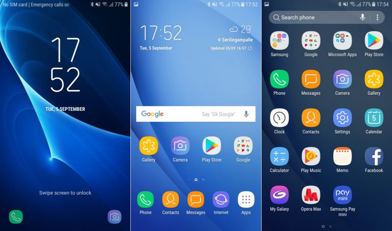 Samsung Galaxy j5 (2016) Nougat