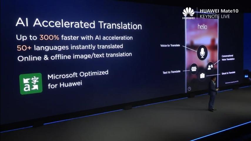 Huawei mate 10 Language Translation