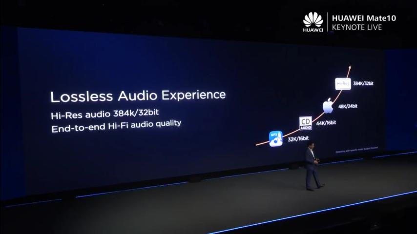 Huawei mate 10 Audio