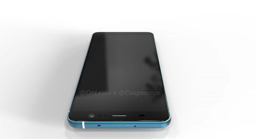 HTC U11 Plus render