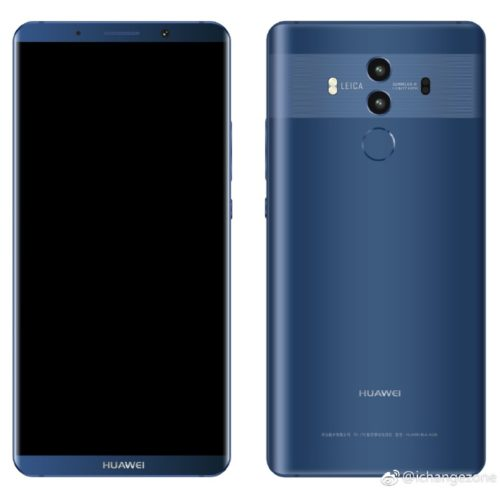 Huawei Mate 10 come with SuperCharge
