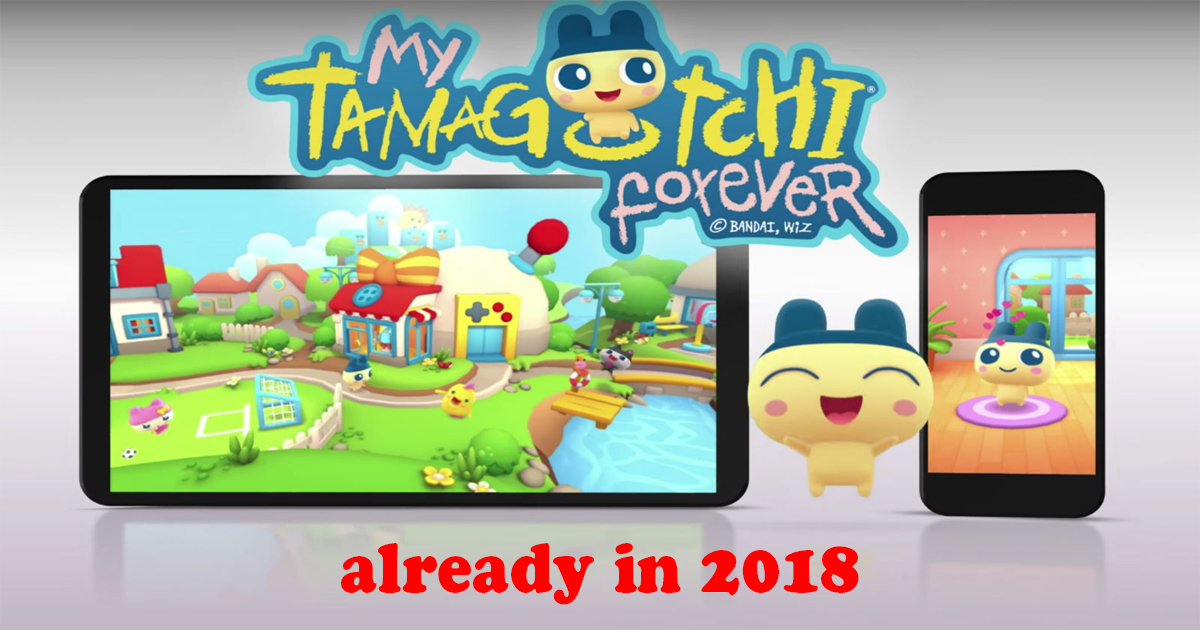 My Tamagotchi Forever 2018