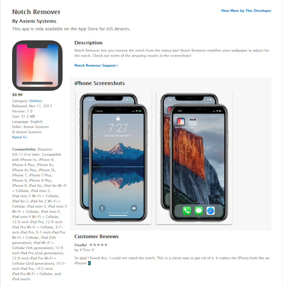 Screenshot-2017-11-13 Notch Remover on the App Store