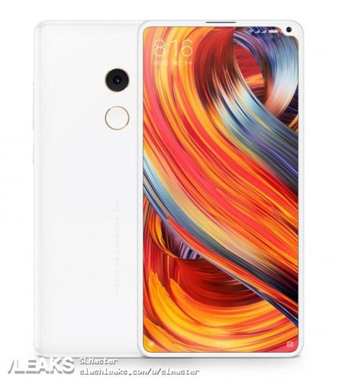 Xiaomi MI MIX 2s Leaked render