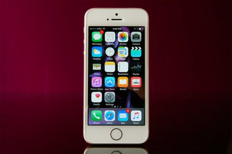 Smartphones iPhone SE