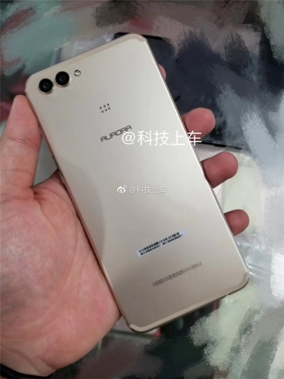 Huawei Nova 3 back