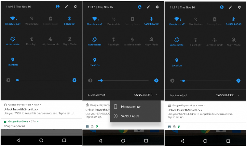 OnePlus 3 Oneplus 3t open beta screenshot