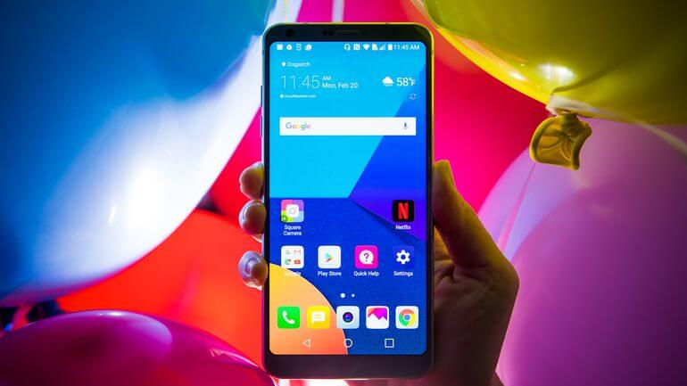 LG G6 oreo update from Software Upgrade Center