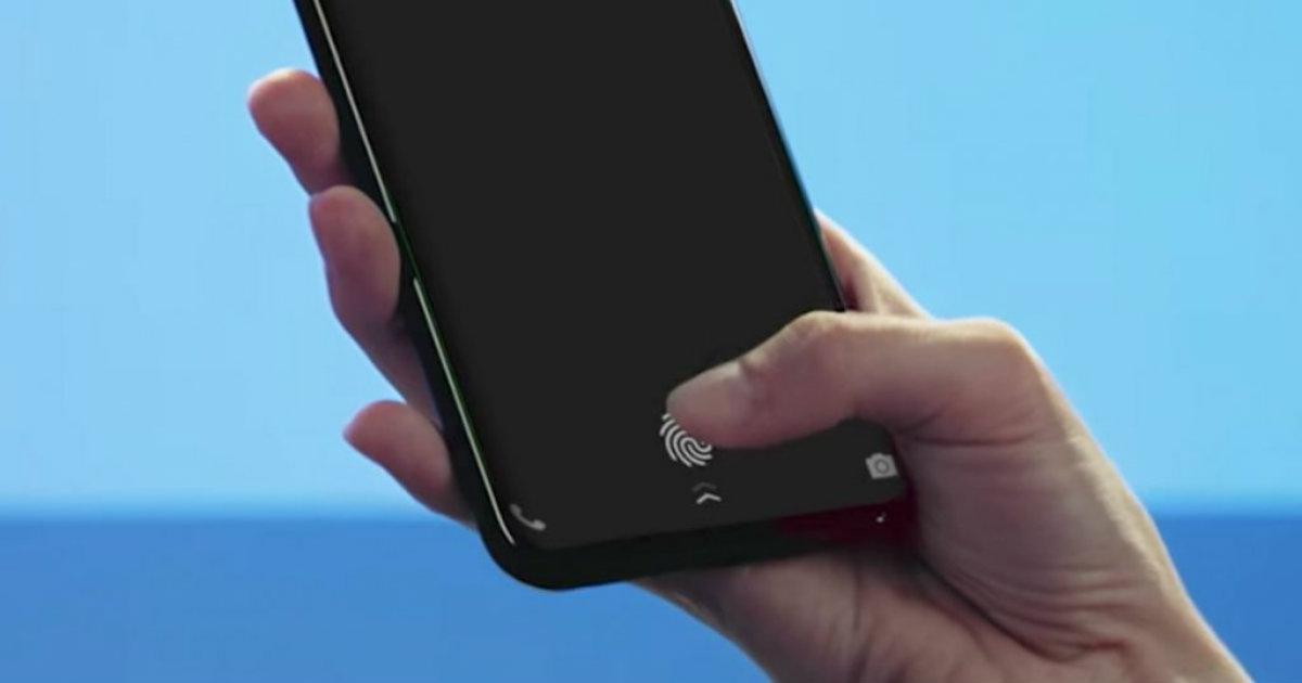 Ultrasonic Fingerprint Scan Header