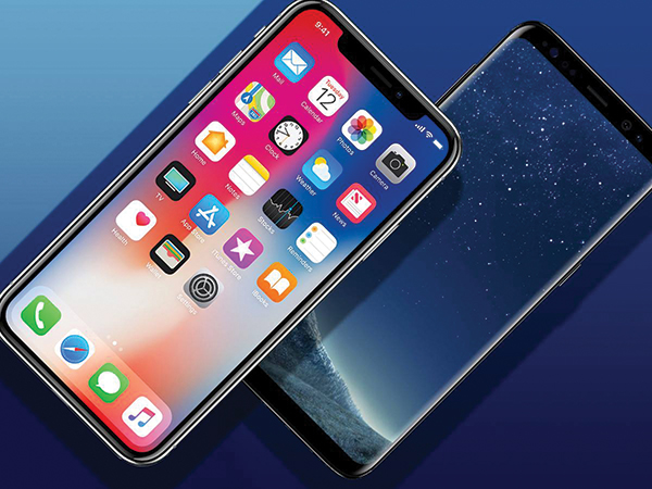 fullHD Display iPhoneX galaxyS8 18:9