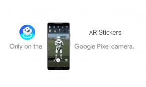 AR Stickers App Google Pixel 2
