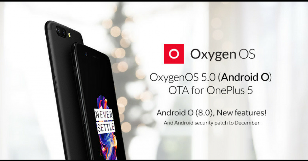 OnePlus 5 Android 8 Oreo Update
