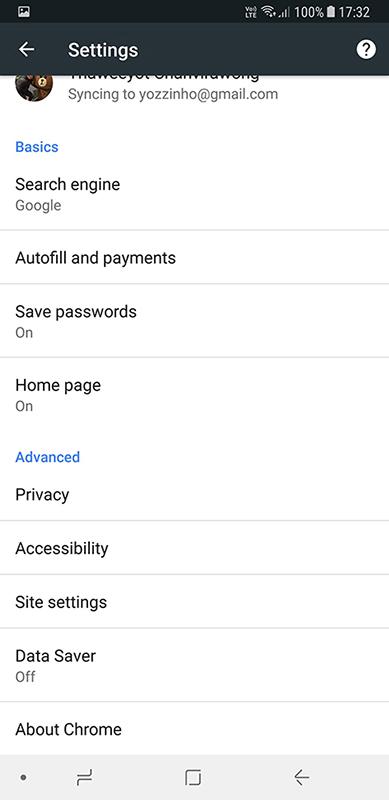 Data Saver Google Chrome