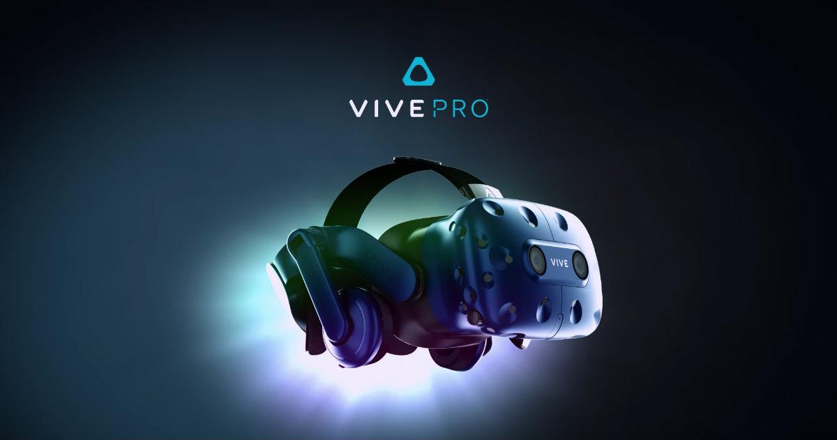 HTC Vive Pro Header