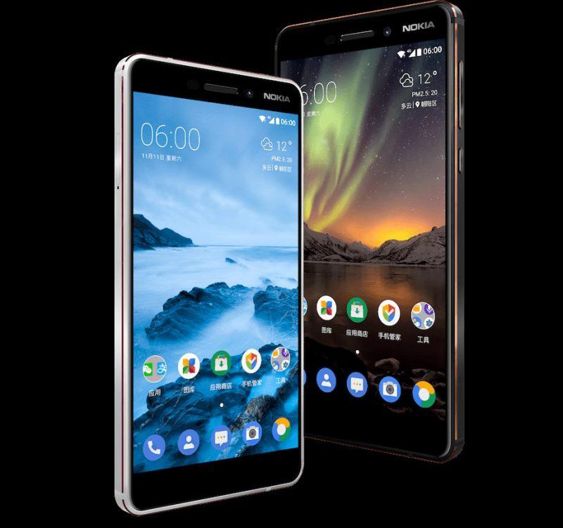 Nokia 6 2nd Gen oreo