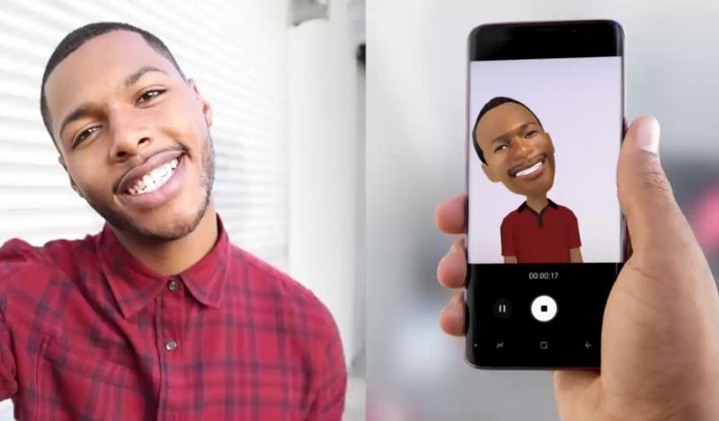 Samsung AR Emoji gif