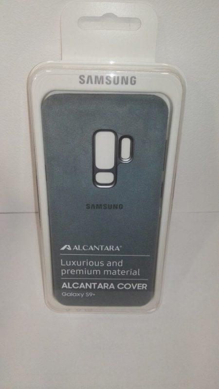 LED Alcantara Cover for Samsung Galaxy S9+