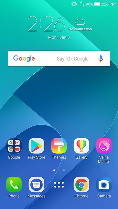 ASUS Zenfone 4 Selfie Pro Screen