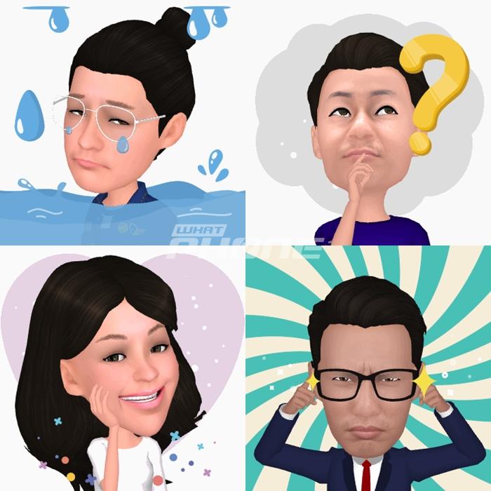 ลูกเล่นของ AR Emoji