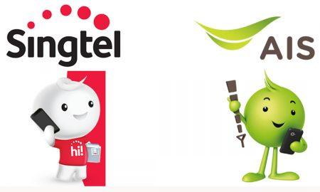 Ais Singtel Logo