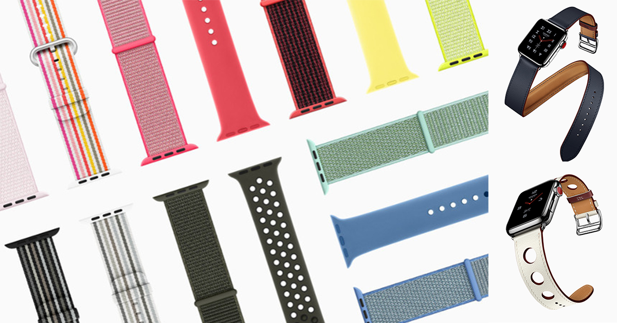 Apple Watch Band Spring New Series