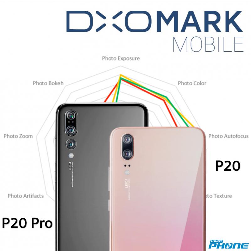 Huawei P20 Pro Triple camera DXOmark