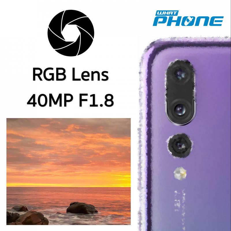 Huawei P20 Pro Triple camera RGB Lens