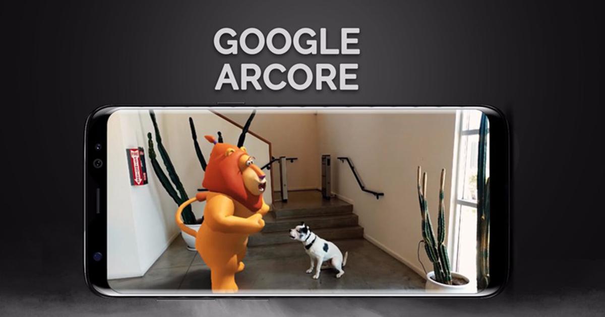 Google ARcore For Samsung Galaxy