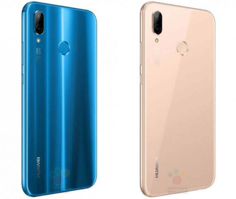 Huawei P20 Lite back New Colours