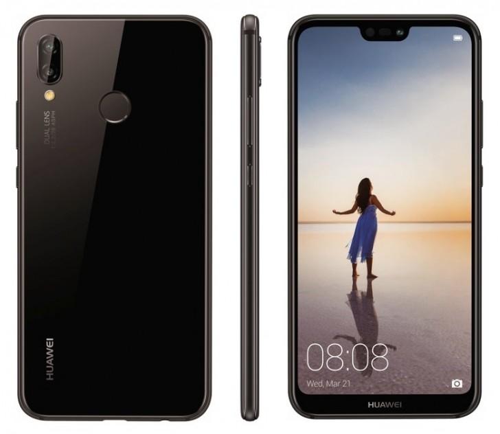 Huawei P20 Lite render leak