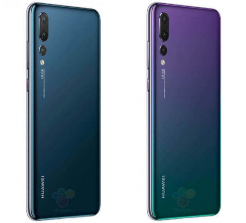 Huawei P20 Pro back New Colours