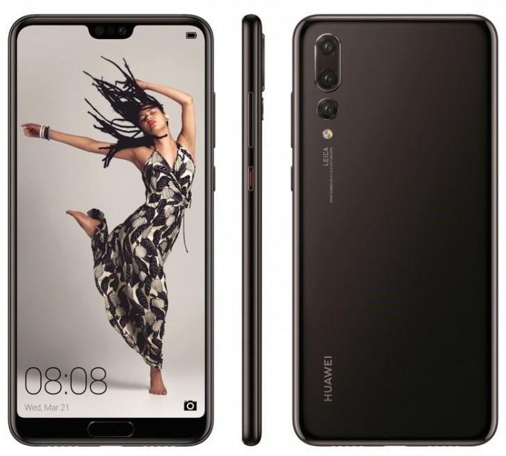 Huawei P20 Pro render leak
