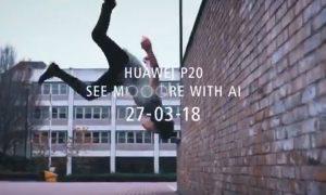 Huawei P20 Teaser Slow Motion