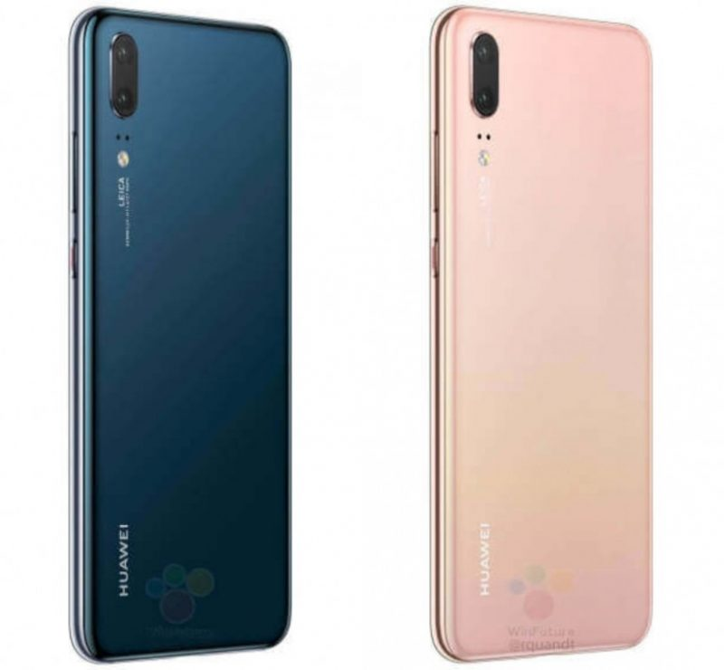 Huawei P20 back New Colours