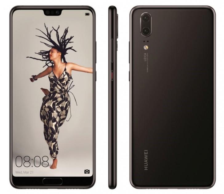 Huawei P20 render leak