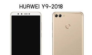 Huawei-Y9-2018-gold-render feat